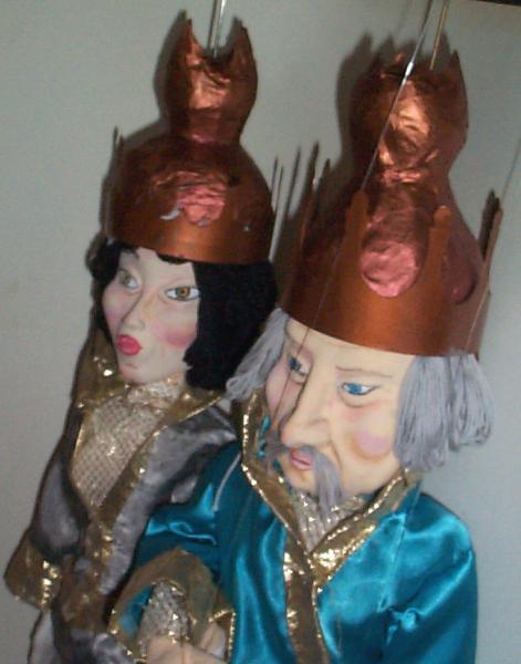 marionnette, le roi